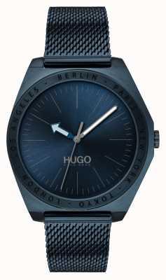 HUGO #Act | Blue IP Mesh | Blue Dial 1530109