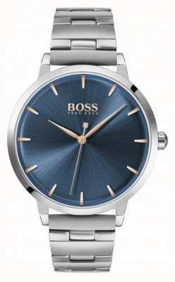 Boss | Women's Marina | Stainless Steel Bracelet | Blue Dial | 1502501
