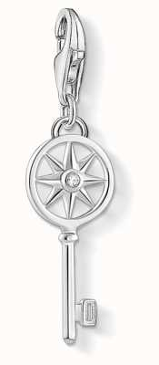 Thomas Sabo | Charm Pendant 'Key With Star' | 925 Sterling Silver 1799-051-14