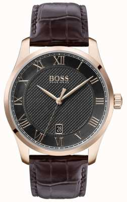 BOSS Master | Brown Leather Strap | Grey Dial | 1513740
