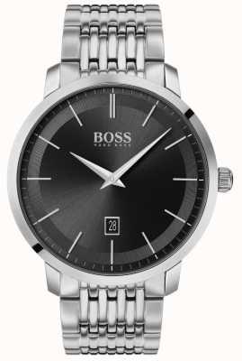 Boss | Men's Premium Classic | Stainless Steel | Black Dial | 1513746