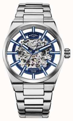 Rotary | Men's Greenwich G3 Automatic | Stainless Steel Bracelet | GB05210/05