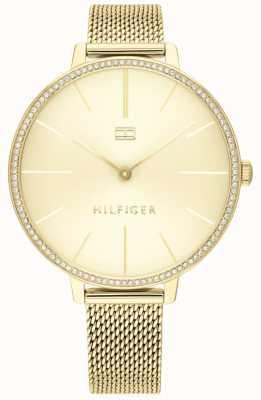 Tommy Hilfiger | Women's Kelly | Gold Mesh Bracelet | Gold Dial | 1782114