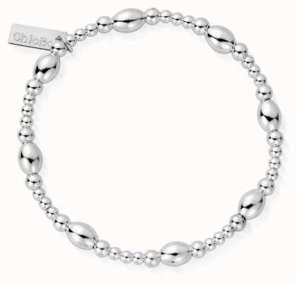 ChloBo | Sterling Silver 'Cute Oval' Bracelet | SBCOR