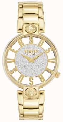 Versus Versace | Women's Kirstenhof | Gold Plated Bracelet | Glitter Dial VSP491419