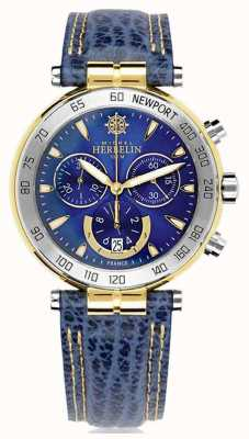 Michel Herbelin | Mens | Newport Originals | Chronograph 37654/T35