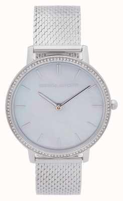 Rebecca Minkoff | Women's Major | Steel Mesh Bracelet | Mother Of Pearl Dial 2200367