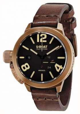 U-Boat Classico 50 Bronzo A Brown strap 8104