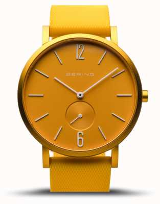 Bering | True Aurora | Yellow Rubber Strap | Yellow Dial | 16940-699