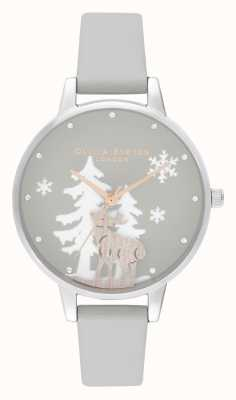 Olivia Burton | Womens | Winter Wonderland | Stag | Vegan Leather Strap | OB16AW02