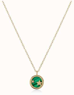 Radley Jewellery Stay Magical | Gold Plated Malachite Necklace | RYJ2102