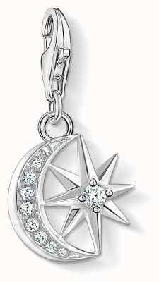 Thomas Sabo Charm Pendant Star & Moon | 925 Sterling Silver 1794-051-14