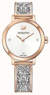 Swarovski | Cosmic Rock | Rose Gold Bangle Bracelet | White Dial | 5376092