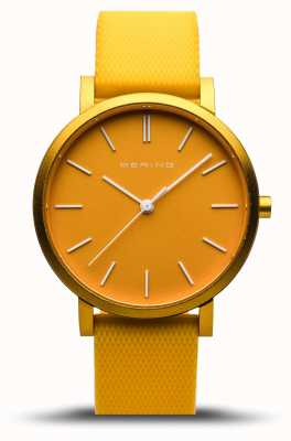 Bering | True Aurora | Yellow Rubber Strap | Yellow Dial | 16934-699
