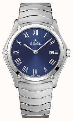 EBEL   Men's Sport Classic   Stainless Steel Bracelet   Blue Dial 1216420A