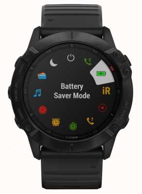 Garmin Fenix 6X Pro Gorilla Glass   Black   Multisport Smartwatch 010-02157-01
