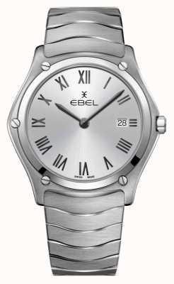 EBEL  Men's Sport Classic   Stainless Steel Bracelet  Silver Dial 1216455A
