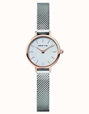 Bering | Women's Classic | Steel Mesh Bracelet | Grey Dial | 11022-064