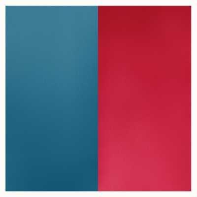 Les Georgettes 25mm Leather Insert | Petrol Blue/Raspberry 702755199M7000