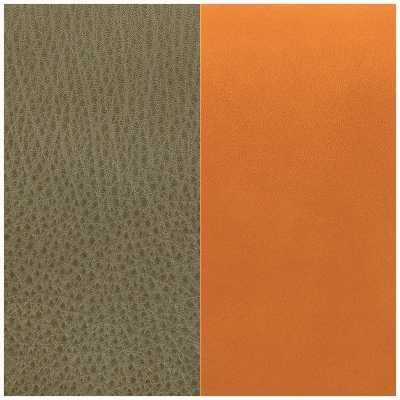 Les Georgettes 8mm Leather Insert | Khaki/Cognac 703215299CH000