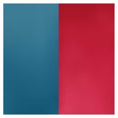 Les Georgettes 8mm Leather Insert | Petrol Blue/Raspberry 703215299M7000