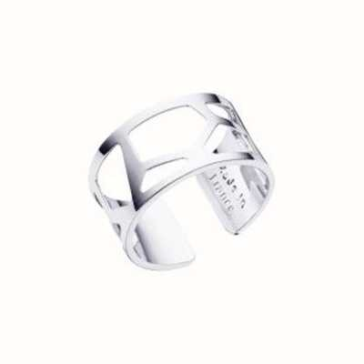 Les Georgettes 12mm Girafe Silver Finish Ring (52) 70296011600052