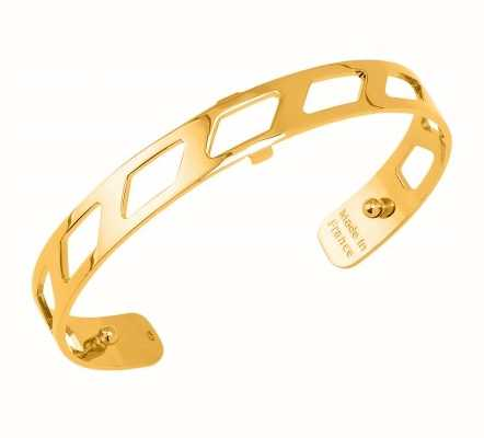 Les Georgettes 8mm Ruban Gold Plated Bangle 70316880100000
