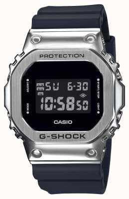 Casio G-Shock Metal Bezel Series | Black Resin Strap | Digital GM-5600-1ER