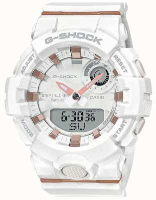 Casio | G-Shock G-Squad | White Rubber Strap | Bluetooth Smart | GMA-B800-7AER