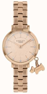 Radley Selby Street Rose Gold Plated Watch RY4398