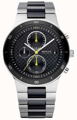 Bering | Mens | Ceramic Steel Bracelet | Chronograph Watch | 33341-749