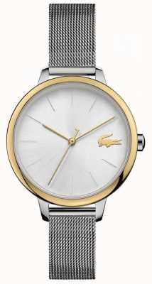 Lacoste Women's Cannes   Stainless Steel Mesh   Silver Dial 2001127