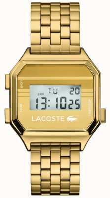Lacoste Berlin | Digital Display | Gold PVD Bracelet 2020138