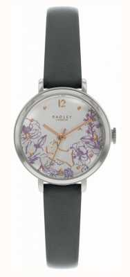 Radley | Women's Black Leather Strap | Floral Print Dial | RY2979