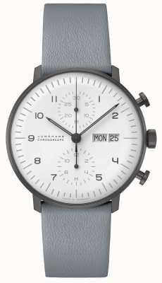Junghans Max Bill Chronoscope | 40mm Black & White 027/4008.05