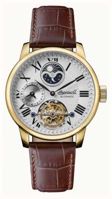 Ingersoll Men's | The Riff | Automatic | Brown Leather Strap I07403
