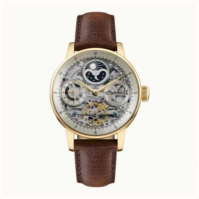 Ingersoll Men's | The Jazz | Automatic | Brown Leather Strap I07704