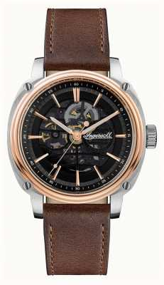 Ingersoll Men's | The Director | Automatic | Brown Leather Strap I09901
