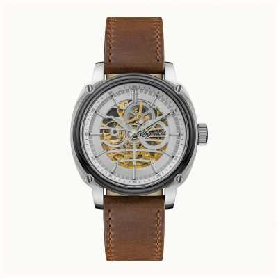 Ingersoll Men's | The Director | Automatic | Brown Leather Strap I09902