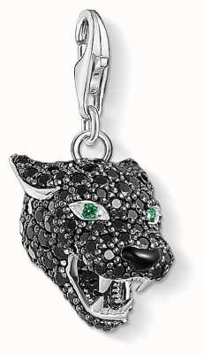 Thomas Sabo Charm Pendant | Black Cat | Zirconia Black | 1696-845-11