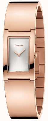 Calvin Klein | Polish | Rose Gold Plated Steel Bracelet | Silver Dial | K9C2N616