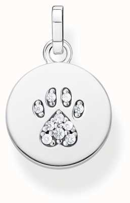 Thomas Sabo | Sterling Silver 'Cat Paw' Pendant PE882-643-14