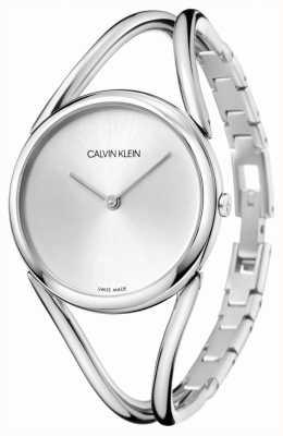 Calvin Klein   Lady   Stainless Steel Bracelet   Silver Dial   KBA23126