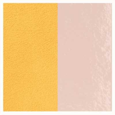 Les Georgettes 25mm Leather Insert   Light Pink/Lemon Yellow 702755199DT000