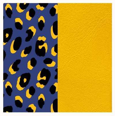 Les Georgettes 25mm Leather Insert   Leopard Print/Sun 702755199P5000