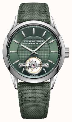 Raymond Weil Men's | Freelancer | Automatic | Green Dial 2780-STC-52001