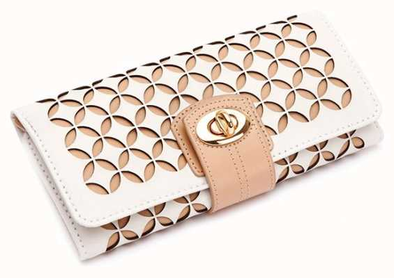 WOLF Chloe Cream Jewellery Storage Roll 301453