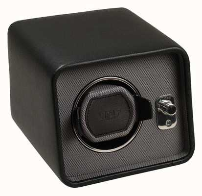 WOLF Windsor Black/Grey Single Watch Winder 4524029