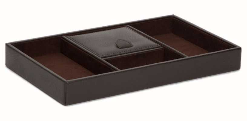 WOLF Blake Brown Pebble Valet Tray 305106