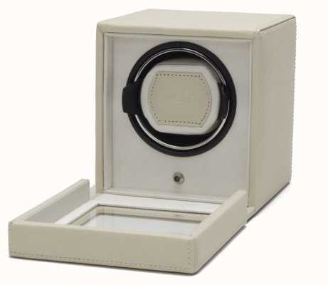 WOLF Cubs Cream Single Watch Winder With Cover 461153